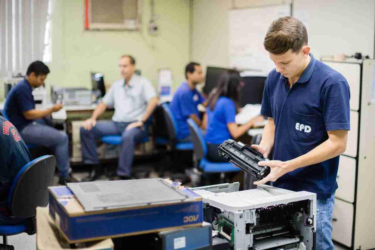 Setor de Manutenção e Suporte EPDVR
